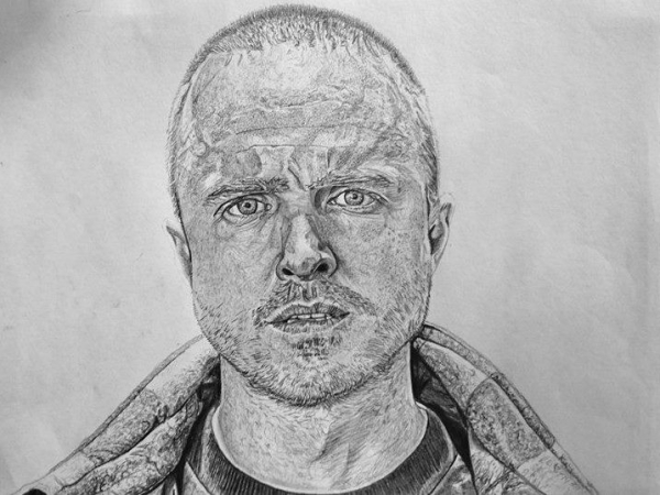 Aaron Paul by docjohn